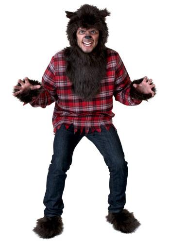 【ポイント最大29倍●お買い物マラソン限定!エントリー】大きいサイズ Werewolf コスチューム ハロウィン メンズ コスプレ 衣装 男性 仮装 男性用 イベント パーティ ハロウィーン 学芸会
