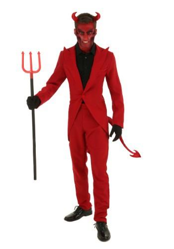 【ポイント最大29倍●お買い物マラソン限定!エントリー】大きいサイズ Red Suit D邪悪な コスチューム ハロウィン メンズ コスプレ 衣装 男性 仮装 男性用 イベント パーティ ハロウィーン 学芸会