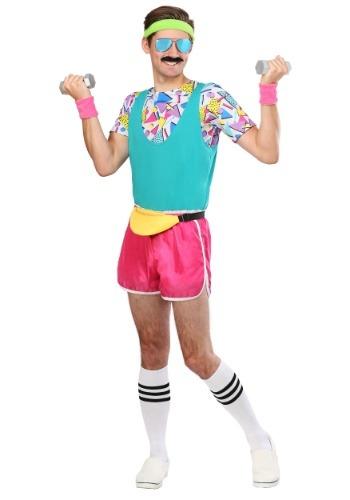 【ポイント最大29倍●お買い物マラソン限定!エントリー】Men's Work It Out 80s コスチューム ハロウィン メンズ コスプレ 衣装 男性 仮装 男性用 イベント パーティ ハロウィーン 学芸会