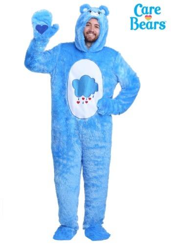 【ポイント最大29倍●お買い物マラソン限定!エントリー】Care Bears 大人用 大きいサイズ Classic Grumpy Bear コスチューム ハロウィン メンズ コスプレ 衣装 男性 仮装 男性用 イベント パーティ ハロウィーン 学芸会