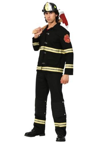 【ポイント最大29倍●お買い物マラソン限定!エントリー】Men's ブラック Firefighter Uniform コスチューム ハロウィン メンズ コスプレ 衣装 男性 仮装 男性用 イベント パーティ ハロウィーン 学芸会