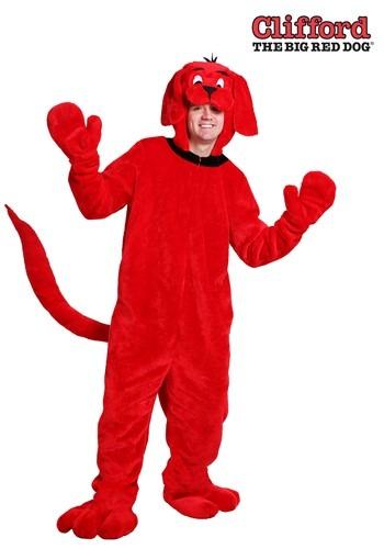 【ポイント最大29倍●お買い物マラソン限定!エントリー】Clifford the Big Red Dog 大きいサイズ 大人用 コスチューム ハロウィン メンズ コスプレ 衣装 男性 仮装 男性用 イベント パーティ ハロウィーン 学芸会