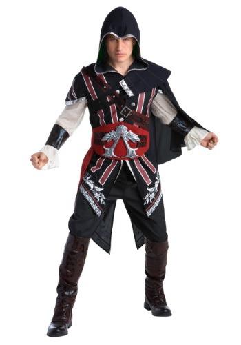 【ポイント最大29倍●お買い物マラソン限定!エントリー】Assassins Creed: Master Assassin Ezio Deluxe 大人用 コスチューム ハロウィン メンズ コスプレ 衣装 男性 仮装 男性用 イベント パーティ ハロウィーン 学芸会