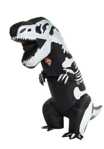 【ポイント最大29倍●お買い物マラソン限定!エントリー】Inflatable Skeleton T-Rex 大人用 コスチューム ハロウィン メンズ コスプレ 衣装 男性 仮装 男性用 イベント パーティ ハロウィーン 学芸会