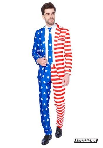 【ポイント最大29倍●お買い物マラソン限定!エントリー】Men's USA Suitmeister Suit ハロウィン メンズ コスプレ 衣装 男性 仮装 男性用 イベント パーティ ハロウィーン 学芸会