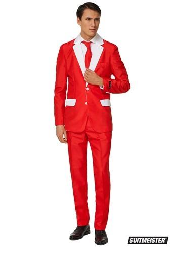【ポイント最大29倍●お買い物マラソン限定!エントリー】Santa Outfit Men's Suitmiester ハロウィン メンズ コスプレ 衣装 男性 仮装 男性用 イベント パーティ ハロウィーン 学芸会