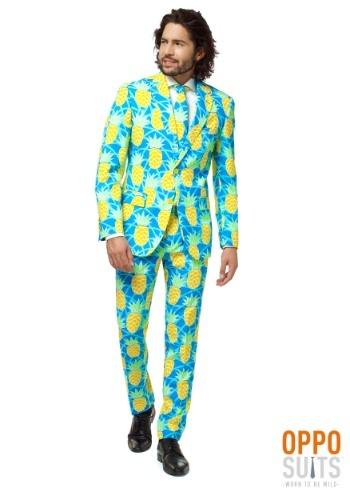 【ポイント最大29倍●お買い物マラソン限定!エントリー】Mens Opposuits Shineapple Suit ハロウィン メンズ コスプレ 衣装 男性 仮装 男性用 イベント パーティ ハロウィーン 学芸会