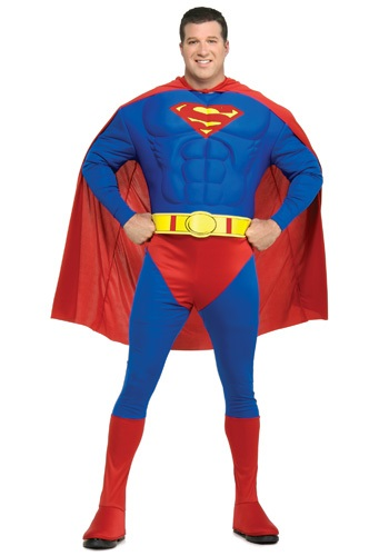 【ポイント最大29倍●お買い物マラソン限定!エントリー】Superman 大きいサイズ コスチューム ハロウィン メンズ コスプレ 衣装 男性 仮装 男性用 イベント パーティ ハロウィーン 学芸会
