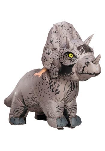 【ポイント最大29倍●お買い物マラソン限定!エントリー】Jurassic World 2 Inflatable Triceratops 大人用 コスチューム ハロウィン メンズ コスプレ 衣装 男性 仮装 男性用 イベント パーティ ハロウィーン 学芸会