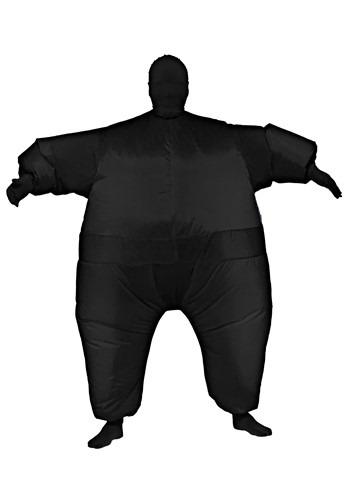 【ポイント最大29倍●お買い物マラソン限定!エントリー】Inflatable ブラック Jumpsuit 大人用 コスチューム ハロウィン メンズ コスプレ 衣装 男性 仮装 男性用 イベント パーティ ハロウィーン 学芸会