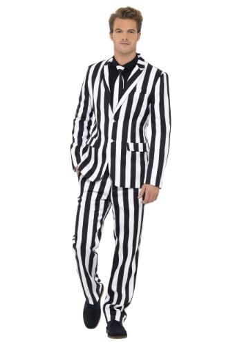 【ポイント最大29倍●お買い物マラソン限定!エントリー】Men's Humbug Striped Suit ハロウィン メンズ コスプレ 衣装 男性 仮装 男性用 イベント パーティ ハロウィーン 学芸会