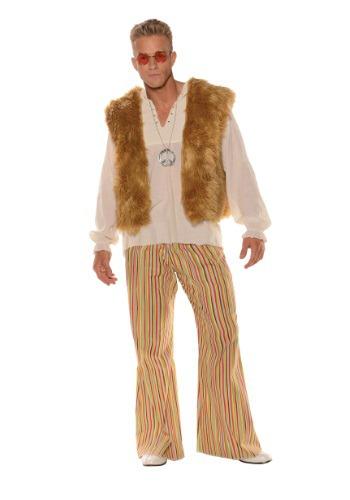 【ポイント最大29倍●お買い物マラソン限定!エントリー】Men's 大きいサイズ Sunny Hippie コスチューム ハロウィン メンズ コスプレ 衣装 男性 仮装 男性用 イベント パーティ ハロウィーン 学芸会