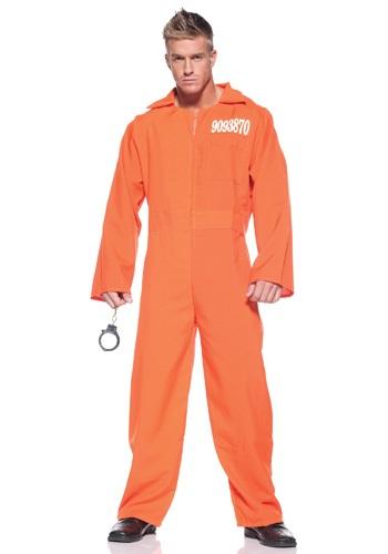 Men's Prison Jumpsuit コスチューム クリスマス ハロウィン メンズ コスプレ 衣装 男性 仮装 男性用 イベント パーティ ハロウィーン 学芸会