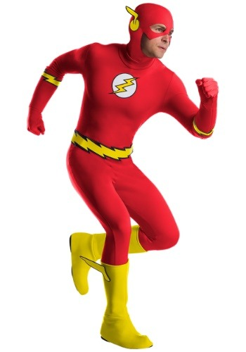 【ポイント最大29倍●お買い物マラソン限定!エントリー】Men's Premium The Flash Classic コスチューム ハロウィン メンズ コスプレ 衣装 男性 仮装 男性用 イベント パーティ ハロウィーン 学芸会