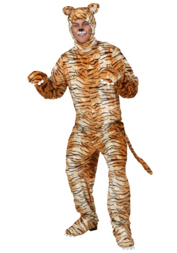 【ポイント最大29倍●お買い物マラソン限定!エントリー】大きいサイズ Tiger コスチューム ハロウィン メンズ コスプレ 衣装 男性 仮装 男性用 イベント パーティ ハロウィーン 学芸会