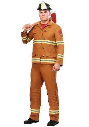 【ポイント最大29倍●お買い物マラソン限定!エントリー】Men's Tan Firefighter Uniform コスチューム ハロウィン メンズ コスプレ 衣装 男性 仮装 男性用 イベント パーティ ハロウィーン 学芸会
