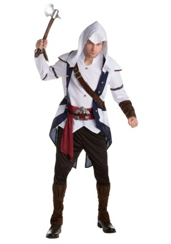 【ポイント最大29倍●お買い物マラソン限定!エントリー】Assassins Creed: Connor Classic 大人用 コスチューム ハロウィン メンズ コスプレ 衣装 男性 仮装 男性用 イベント パーティ ハロウィーン 学芸会
