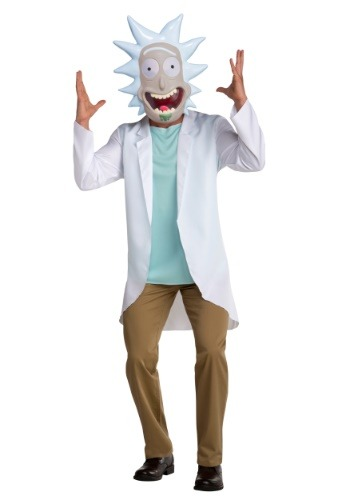 Rick and Morty Rick Men's コスチューム クリスマス ハロウィン メンズ コスプレ 衣装 男性 仮装 男性用 イベント パーティ ハロウィーン 学芸会
