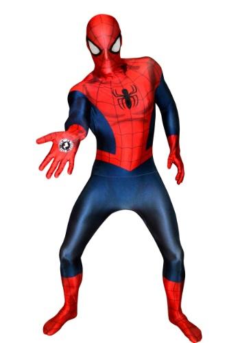 【ポイント最大29倍●お買い物マラソン限定!エントリー】大人用 Deluxe Ultimate Spider-Man Morphsuit ハロウィン メンズ コスプレ 衣装 男性 仮装 男性用 イベント パーティ ハロウィーン 学芸会