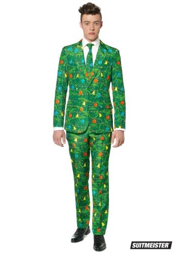 【ポイント最大29倍●お買い物マラソン限定!エントリー】Green Christmas Tree Men's Suitmeister Suit ハロウィン メンズ コスプレ 衣装 男性 仮装 男性用 イベント パーティ ハロウィーン 学芸会