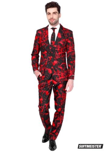 【ポイント最大29倍●お買い物マラソン限定!エントリー】Halloween Blood Men's Suitmeister Suit ハロウィン メンズ コスプレ 衣装 男性 仮装 男性用 イベント パーティ ハロウィーン 学芸会