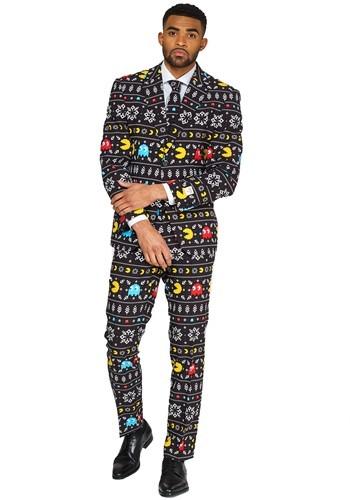 【ポイント最大29倍●お買い物マラソン限定!エントリー】Opposuit Winter Pac Man Men's Suit ハロウィン メンズ コスプレ 衣装 男性 仮装 男性用 イベント パーティ ハロウィーン 学芸会