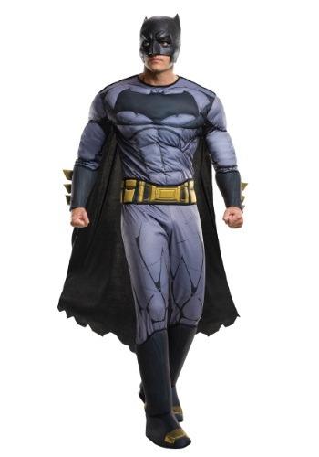 【ポイント最大29倍●お買い物マラソン限定!エントリー】Deluxe Batman v Superman Dawn of Justice Batman コスチューム ハロウィン メンズ コスプレ 衣装 男性 仮装 男性用 イベント パーティ ハロウィーン 学芸会
