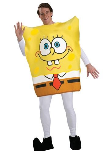 【全品P5倍】大人用 SpongeBob SquarePants コスチューム クリスマス ハロウィン メンズ コスプレ 衣装 男性 仮装 男性用 イベント パーティ ハロウィーン 学芸会