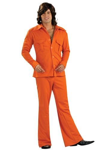 【ポイント最大29倍●お買い物マラソン限定!エントリー】Orange Leisure Suit コスチューム ハロウィン メンズ コスプレ 衣装 男性 仮装 男性用 イベント パーティ ハロウィーン 学芸会