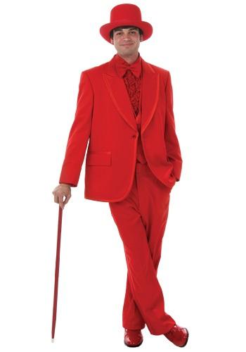 【ポイント最大29倍●お買い物マラソン限定!エントリー】Men's Red Tuxedo ハロウィン メンズ コスプレ 衣装 男性 仮装 男性用 イベント パーティ ハロウィーン 学芸会