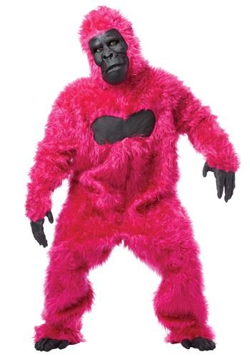 【ポイント最大29倍●お買い物マラソン限定!エントリー】Pink Gorilla Suit コスチューム ハロウィン メンズ コスプレ 衣装 男性 仮装 男性用 イベント パーティ ハロウィーン 学芸会