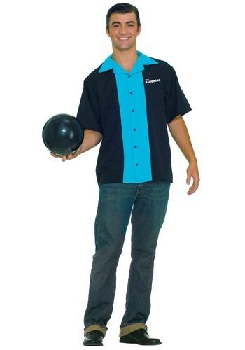 King Pin Bowling Shirt クリスマス ハロウィン メンズ コスプレ 衣装 男性 仮装 男性用 イベント パーティ ハロウィーン 学芸会
