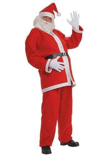 大きいサイズ Simply Santa コスチューム クリスマス ハロウィン メンズ コスプレ 衣装 男性 仮装 男性用 イベント パーティ ハロウィーン 学芸会
