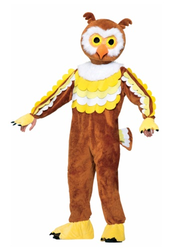 【ポイント最大29倍●お買い物マラソン限定!エントリー】Give A Hoot Owl Mascot コスチューム ハロウィン メンズ コスプレ 衣装 男性 仮装 男性用 イベント パーティ ハロウィーン 学芸会