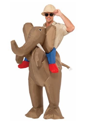 【ポイント最大29倍●お買い物マラソン限定!エントリー】大人用 Inflatable Ride An Elephant コスチューム ハロウィン メンズ コスプレ 衣装 男性 仮装 男性用 イベント パーティ ハロウィーン 学芸会