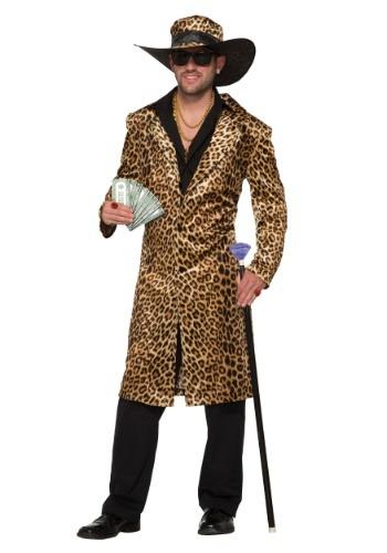【ポイント最大29倍●お買い物マラソン限定!エントリー】Men's Funky Leopard Pimp コスチューム ハロウィン メンズ コスプレ 衣装 男性 仮装 男性用 イベント パーティ ハロウィーン 学芸会