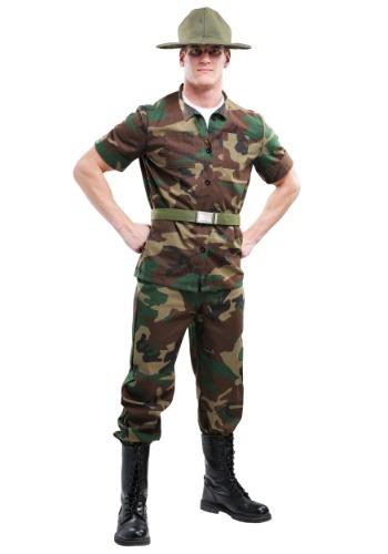 Men's 大きいサイズ Drill Sergeant コスチューム クリスマス ハロウィン メンズ コスプレ 衣装 男性 仮装 男性用 イベント パーティ ハロウィーン 学芸会
