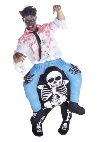 【ポイント最大29倍●お買い物マラソン限定!エントリー】Skeleton Piggyback Mens コスチューム ハロウィン メンズ コスプレ 衣装 男性 仮装 男性用 イベント パーティ ハロウィーン 学芸会
