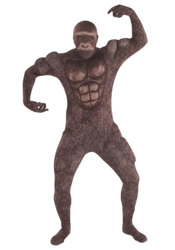 【ポイント最大29倍●お買い物マラソン限定!エントリー】Muscle Gorilla Men's Morphsuit コスチューム ハロウィン メンズ コスプレ 衣装 男性 仮装 男性用 イベント パーティ ハロウィーン 学芸会