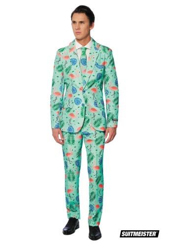 【ポイント最大29倍●お買い物マラソン限定!エントリー】Men's Tropical Suitmeister Suit コスチューム ハロウィン メンズ コスプレ 衣装 男性 仮装 男性用 イベント パーティ ハロウィーン 学芸会