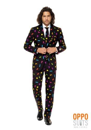 【ポイント最大29倍●お買い物マラソン限定!エントリー】Men's OppoSuits Tetris Suit ハロウィン メンズ コスプレ 衣装 男性 仮装 男性用 イベント パーティ ハロウィーン 学芸会