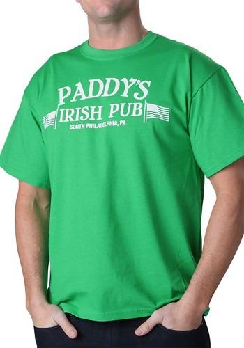 Men's Always Sunny in Philadelphia Paddy's Irish Pub T-Shirt クリスマス ハロウィン メンズ コスプレ 衣装 男性 仮装 男性用 イベント パーティ ハロウィーン 学芸会