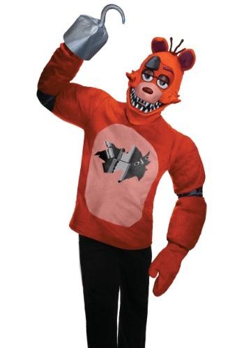 【ポイント最大29倍●お買い物マラソン限定!エントリー】Five Nights at Freddy's 大人用 Foxy コスチューム ハロウィン メンズ コスプレ 衣装 男性 仮装 男性用 イベント パーティ ハロウィーン 学芸会