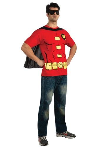 Robin T-Shirt コスチューム クリスマス ハロウィン メンズ コスプレ 衣装 男性 仮装 男性用 イベント パーティ ハロウィーン 学芸会