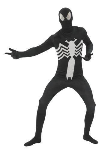 【ポイント最大29倍●お買い物マラソン限定!エントリー】Spider-man ブラック 2nd Skin 大人用 コスチューム ハロウィン メンズ コスプレ 衣装 男性 仮装 男性用 イベント パーティ ハロウィーン 学芸会