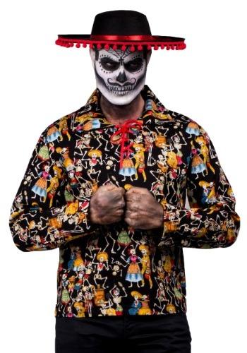 【ポイント最大29倍●お買い物マラソン限定!エントリー】Dead Man's Party Shirt ハロウィン メンズ コスプレ 衣装 男性 仮装 男性用 イベント パーティ ハロウィーン 学芸会