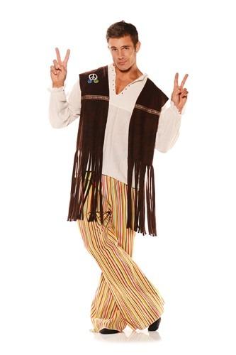 大人用 コスチューム Fringe Hippie ベスト クリスマス ハロウィン メンズ コスプレ 衣装 男性 仮装 男性用 イベント パーティ ハロウィーン 学芸会