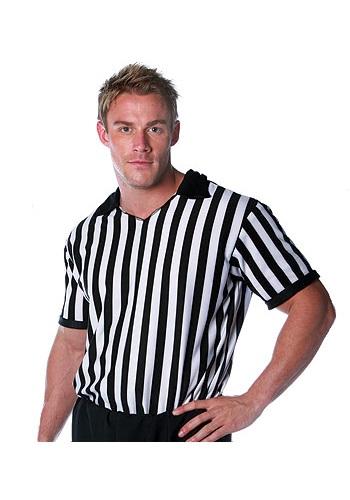 Men's Referee Shirt クリスマス ハロウィン メンズ コスプレ 衣装 男性 仮装 男性用 イベント パーティ ハロウィーン 学芸会