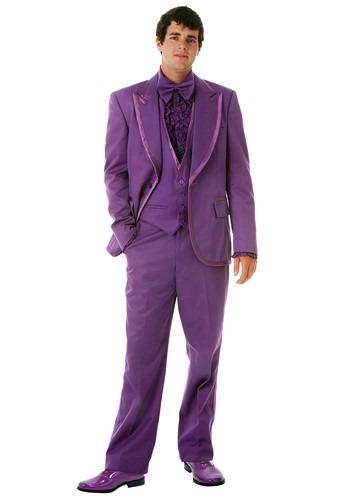 【ポイント最大29倍●お買い物マラソン限定!エントリー】Men's Purple Tuxedo ハロウィン メンズ コスプレ 衣装 男性 仮装 男性用 イベント パーティ ハロウィーン 学芸会