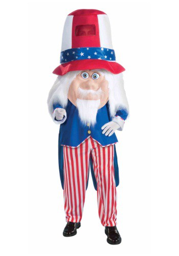 【ポイント最大29倍●お買い物マラソン限定!エントリー】大人用 Uncle Sam Parade Mascot コスチューム ハロウィン メンズ コスプレ 衣装 男性 仮装 男性用 イベント パーティ ハロウィーン 学芸会
